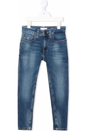 Calvin Klein Mid-rise skinny jeans