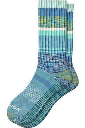 BOMBAS Brush Stripe Calf Socks