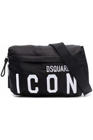 Dsquared2 TEEN logo-embroidered belt bag