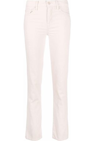 7 For All Mankind The Straight Velvet five-pocket slim trousers