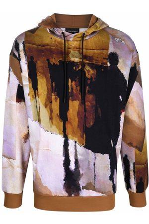 Emporio Armani Graphic print hoodie