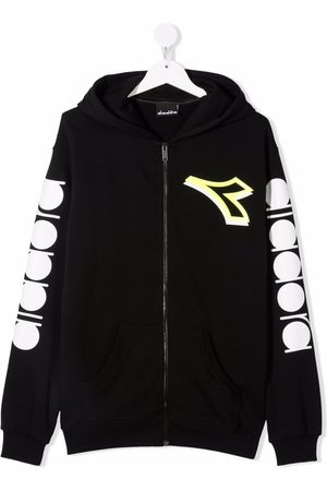 Diadora Junior Logo zip hoodie