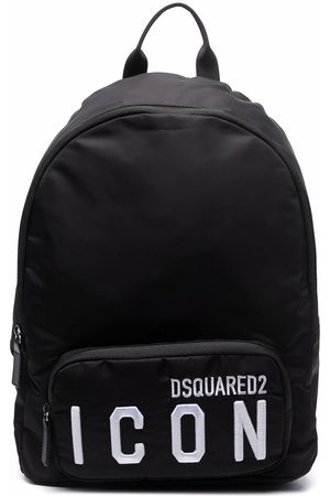 Dsquared2 Rucksacks - Icon embroidered backpack