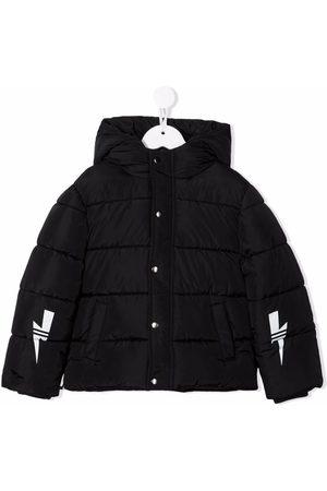 Neil Barrett Kids Padded rain jacket