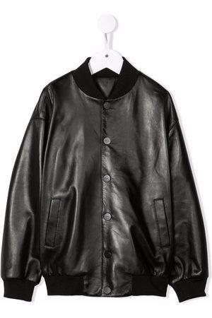 Fendi Kids Buttoned-up bomber jacket