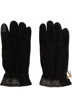Timberland Full-finger clip-fastening gloves