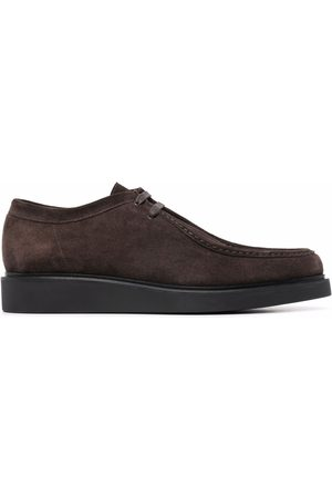 PAUL SMITH Uriah suede derby shoes