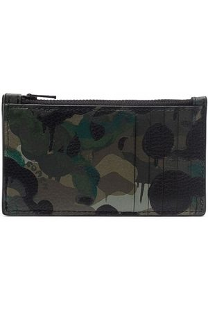 Coach Abstract-print leather wallet