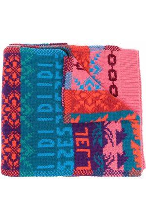 Diesel K-Fresno jacquard-knit scarf