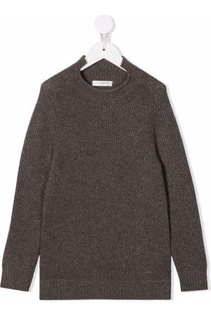 Paolo Pecora Kids Purl-knit merino wool - Neutrals
