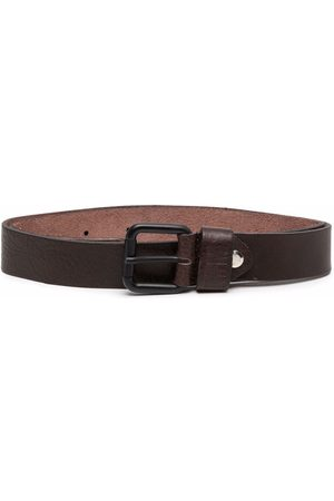 Paolo Pecora Boys Belts - Leather buckle belt
