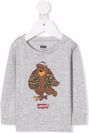 Levi's Logo-print T-shirt - Grey
