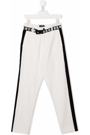 Dkny Kids TEEN corduroy slim-fit trousers