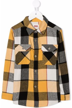 Levi's Check-print button-up shirt