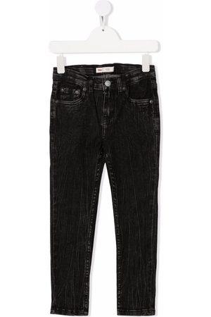 Levi's Kids Boys Straight - Distressed straight-leg jeans