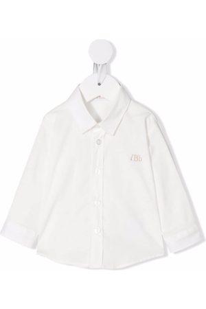Le Bebé Enfant Baby button shirt