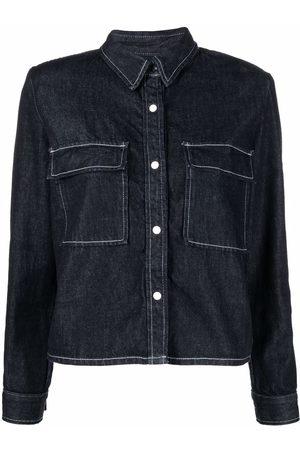 Levi's Double chest pocket denim shirt