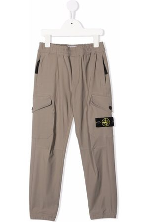 Stone Island Straight-leg cargo trousers - Neutrals