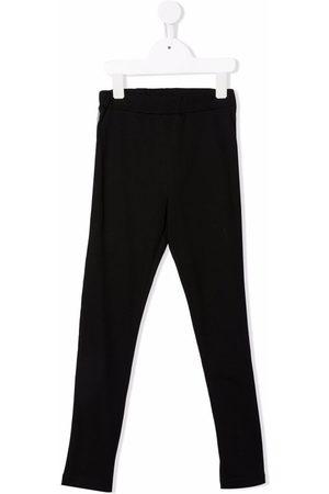 Balmain Kids Logo-print stretch-cotton leggings