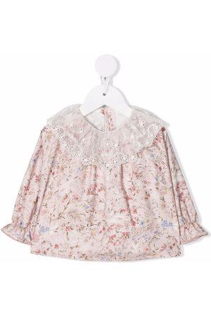 Le Bebé Enfant Baby Blouses - Floral blouse