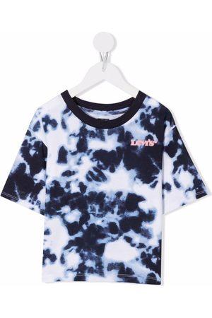 Levi's Kids Tie dye-print short-sleeved T-shirt