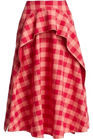 Acler Perry Gingham Skirt