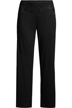 Natori Women Sweats - Lace Detail Lounge Pants