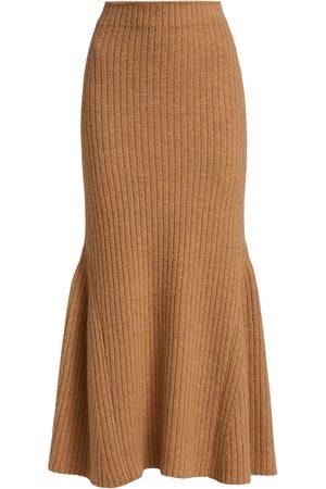 Nanushka Women Skirts & Dresses - Alyna Wool-Blend Fluted Skirt