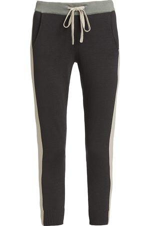 MONROW Colorblock Sporty Sweatpants