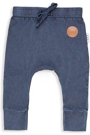 Huxbaby Sports Pants - Baby's & Little Boy's Chambray Sweatpants