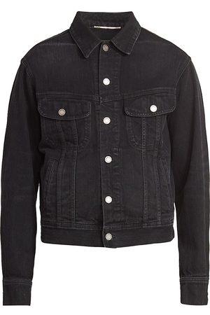 Saint Laurent 80s Slim-Fit Denim Jacket