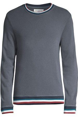 Sol Angeles Men Denim - Sol Flag Color Block Stripe Sweater