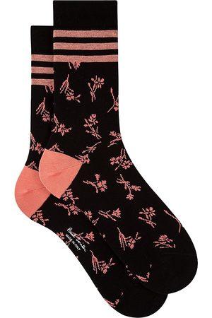 Paul Smith Tiana Floral Crew Socks