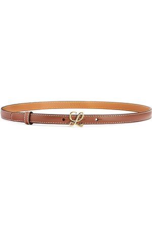 Loewe L-Buckle Leather Belt