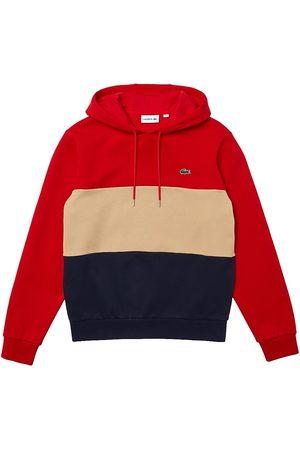 Lacoste Men Hoodies - Color Block Brushed Fleece Hoodie