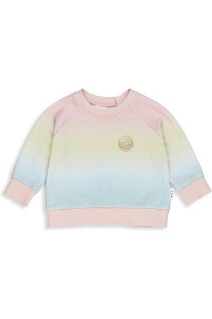 Huxbaby Baby's, Little Girl's & Girl's Ombr Crewneck Sweatshirt