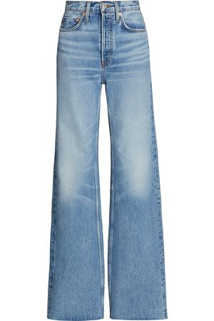 RE/DONE 70s High Rise Wide Leg Jeans