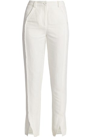 AJE Martino Linen Tapered Pants