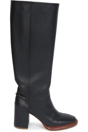 Chloé Women Thigh High Boots - Edith Leather Knee-High Boots