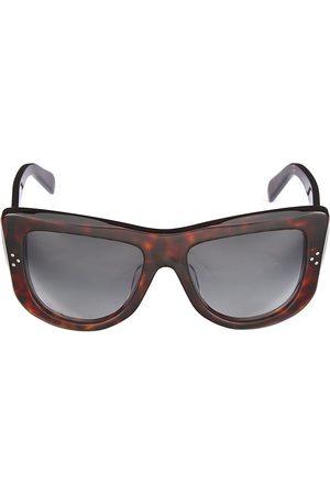 Céline Women Round - 57MM Flat Top Round Sunglasses