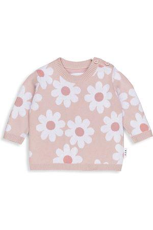 Huxbaby Sweatshirts - Baby's & Little Girl's Floral Knit Sweatshirt