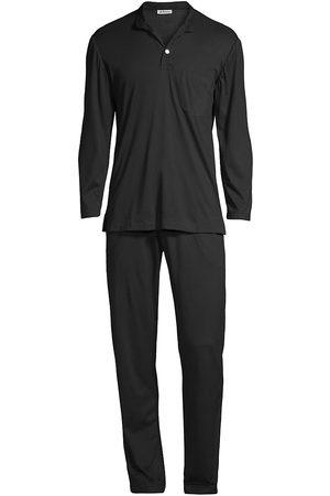 Kiton Cotton & Cashmere Pajama Set