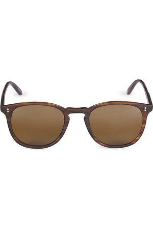 GARRETT LEIGHT Men Square - Kinney Sun 49MM Square Sunglasses