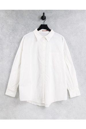 Skylar Rose Women Shirts - Oversized puff sleeve shirt in
