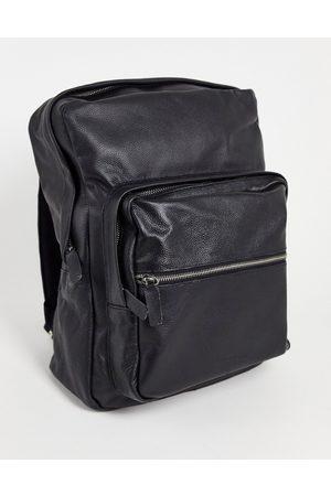 Bolongaro Trevor Leather grain backpack