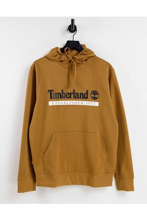 Timberland Established 1973 hoodie in wheat tan - part of a set
