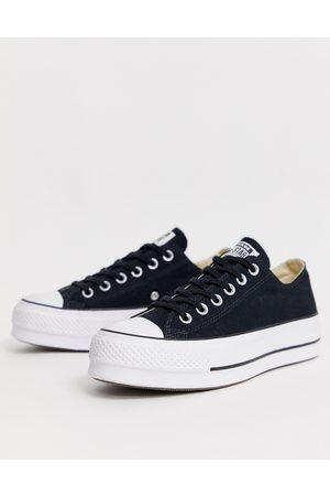 Converse Chuck Taylor All Star Ox Lift canvas platform sneakers in