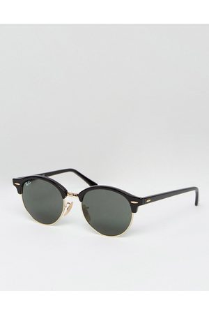 Ray-Ban Clubmaster round sunglasses in 0RB4246