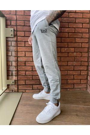 EA7 Armani Core ID slim fit small logo sweatpants in -Grey