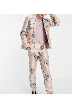 Reclaimed Inspired couture suit pants in floral print